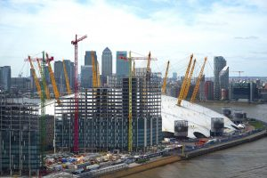 The o2 Arena near Crowne Plaza London Docklands