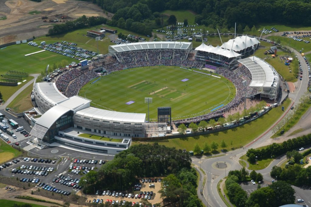 Ageas Bowl Cricket Ground - day time match