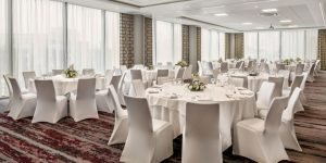 Wedding Layout at Crowne Plaza London Docklands