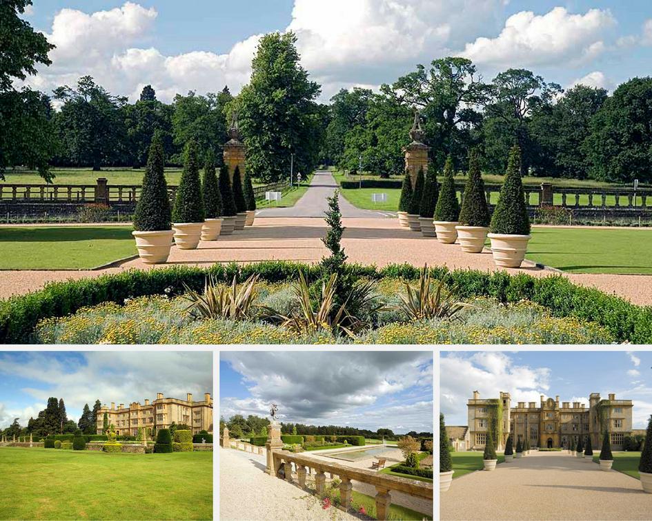 Eynsham Hall garden & grounds for summer parties, weddings & corporate entertainment