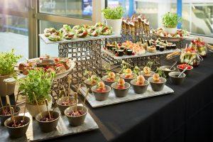 International Convention Centre finger food