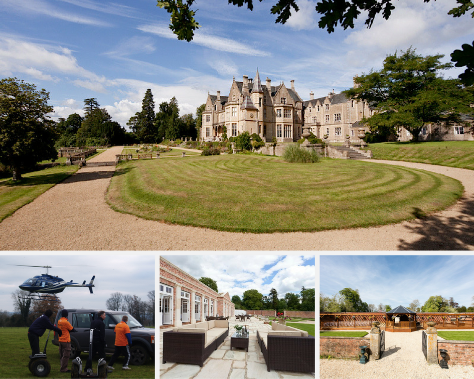 Orchardleigh House, garden & grounds can be hired for meetings, weddings & summer parties