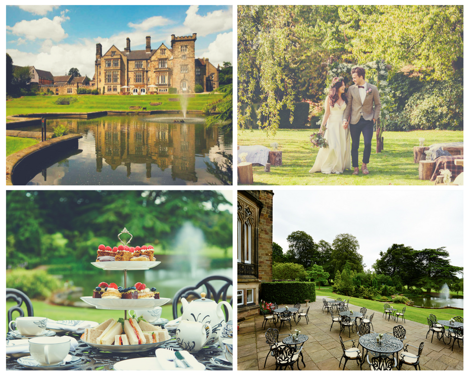 Breadsall Priory grounds & garden for weddings, corporate entertainment & meetings