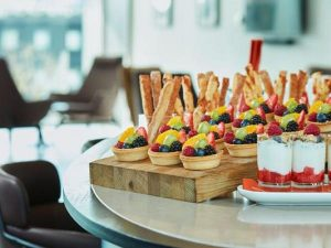 Summer Food Buffet at Crowne Plaza London Docklands