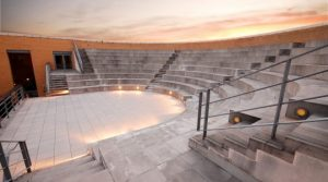 Academic Venue: University of Oxford amphitheatre