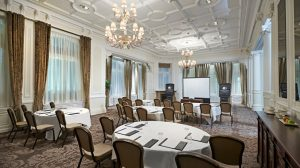Meeting room at Doubletree by Hilton Hotel & Spa Liverpool
