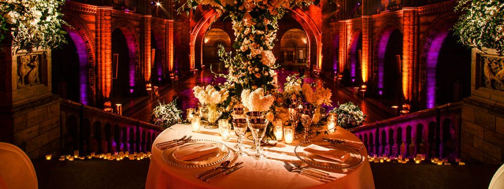 Natural History Museum for a wedding or private celebration