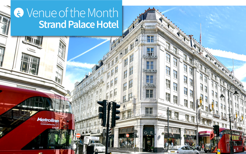 Venue of the Month: Strand Palace Hotel