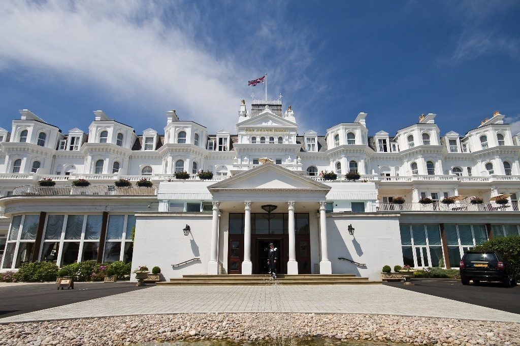 Grand Hotel Eastbourne for a conference