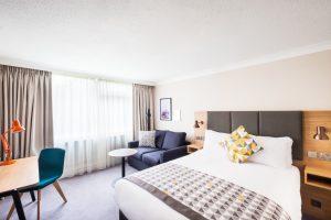 Bedroom at Holiday Inn Reading South