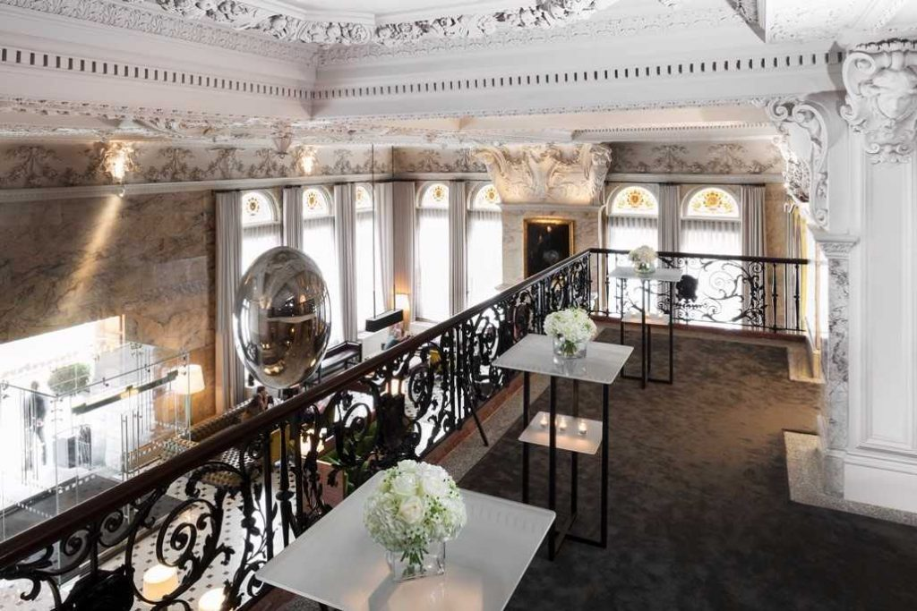 An inspiring London venue is The London Edition