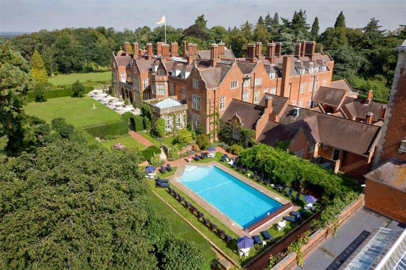 Tylney Hall Hotel for a conference