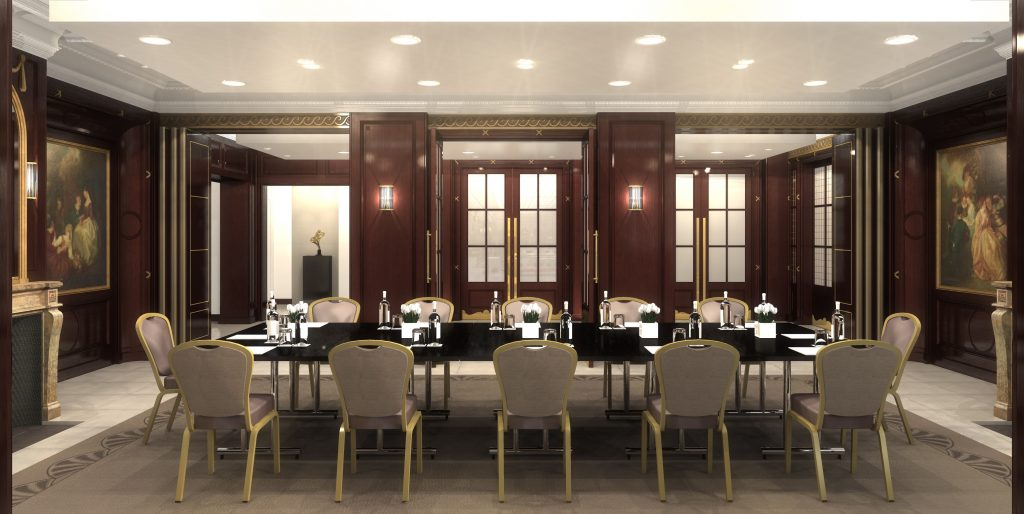 Waldorf London an inspiring executive boardroom