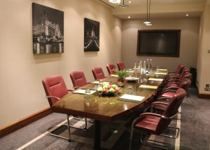 Boardroom at Crowne Plaza London The City