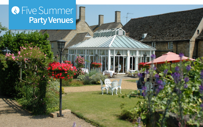 Five Summer Party Venues