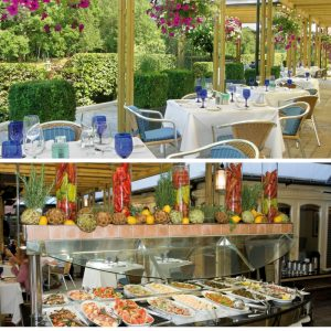Solent Hotel & Spa Al Fresco Dining from The House of Thwaites