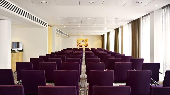 Conference room at Hilton Garden Inn Birmingham