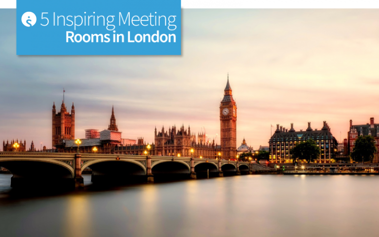 5 Inspiring Meeting Rooms in London