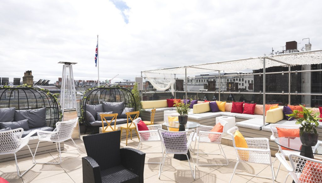 Couthouse Hotel London Rooftop