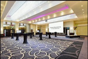 The Grand Ballroom at The Montcalm London Marble Arch is perfect for a company or office Christmas party