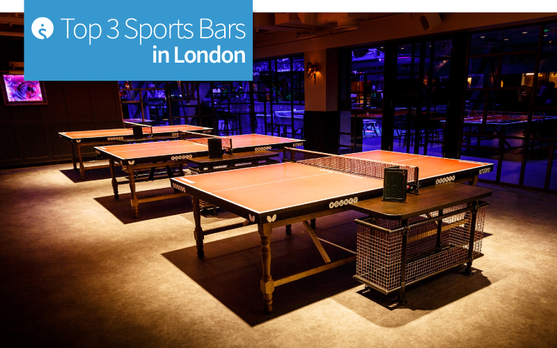 Top 3 Sports Bars in London
