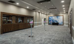 Watford Hilton reception area for parties