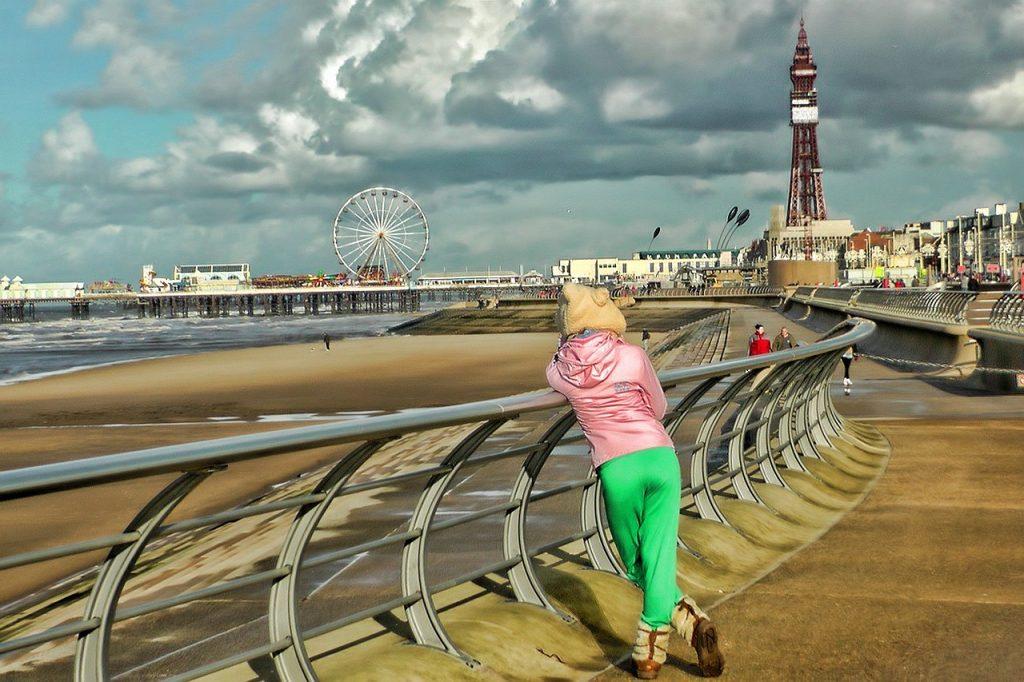 Illuminating Christmas in Blackpool