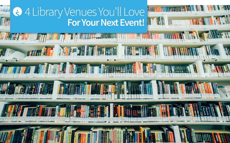 4 Library Venues You'll Love for your Next Event