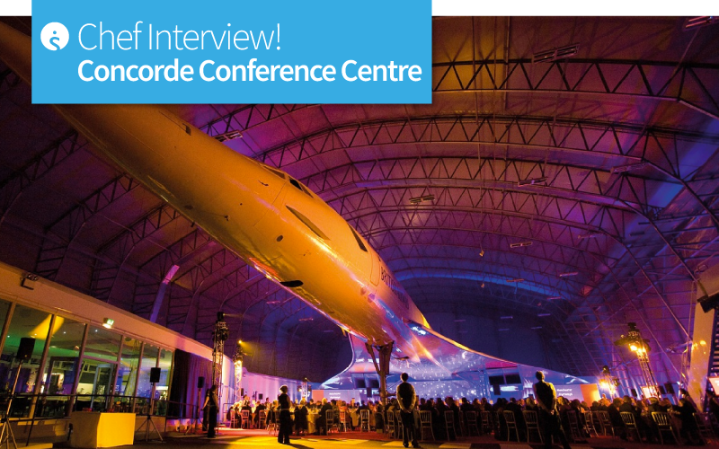 Chef Interview at Concorde Conference Centre