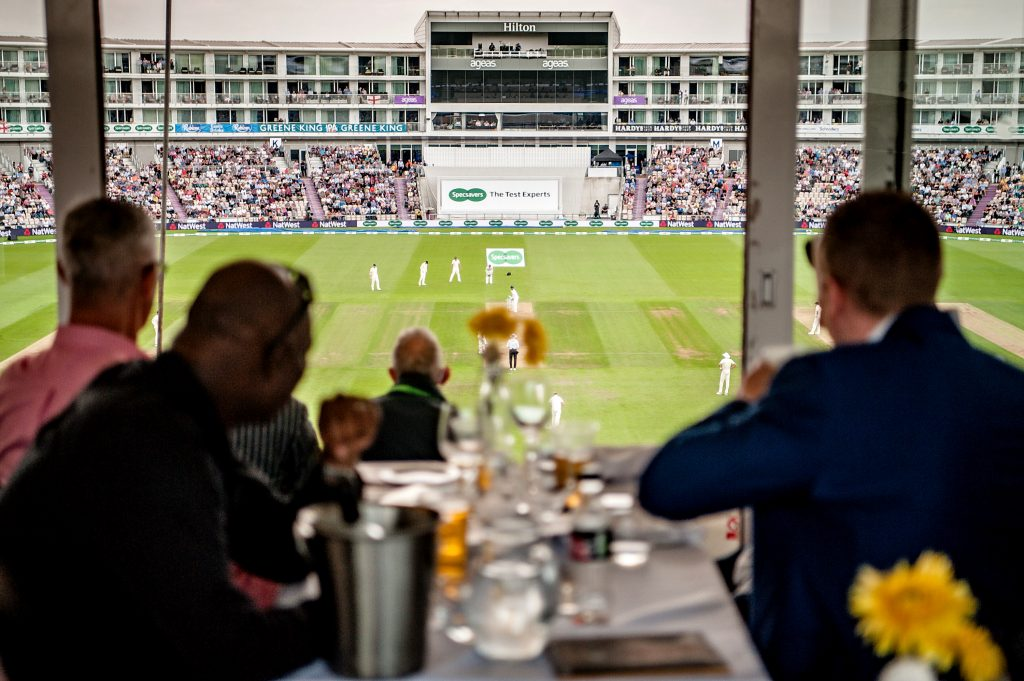 Hospitality packages at The Ageas Bowl