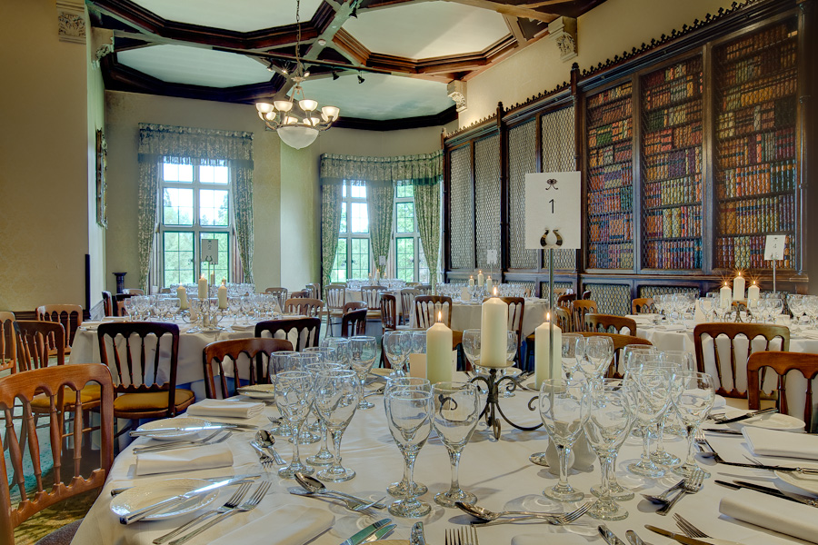 Elvetham Hotel The Library Room