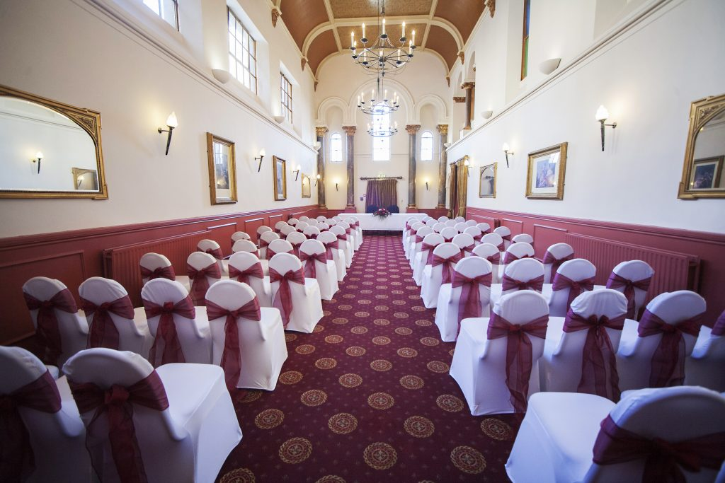 The Chaple at Arnos Manor Hotel for weddings and corporate celebrations