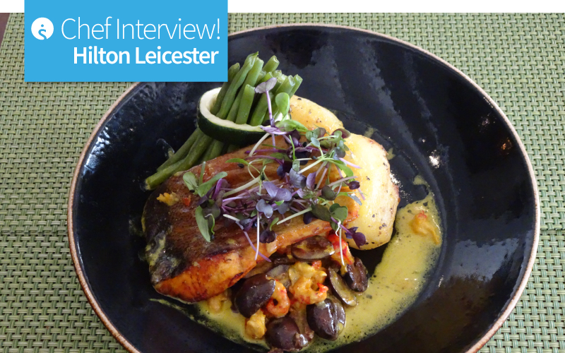 Chef Interview Hilton Leicester-