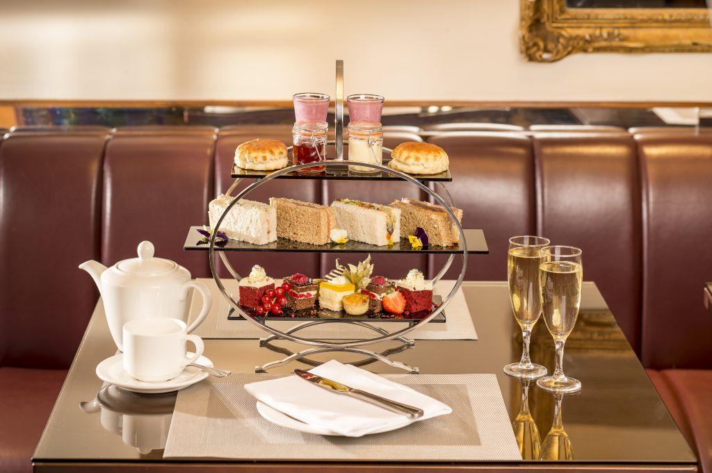 Afternoon tea at Copthorne Tara Hotel