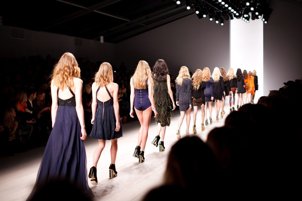 London Fashion Week on the catwalk