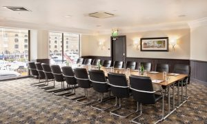 Neville Boardroom at The Tower with views of St Katharine's Dock