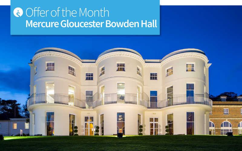 Offer of the Month: Mercure Gloucester Bowden Hall