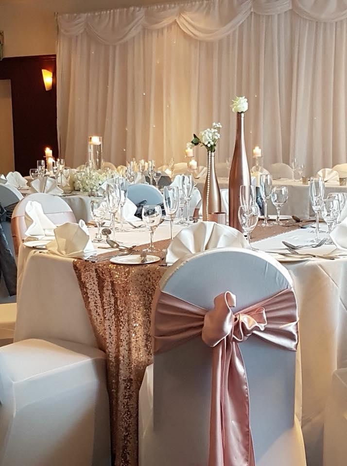 Wedding set up, Holiday Inn Washington