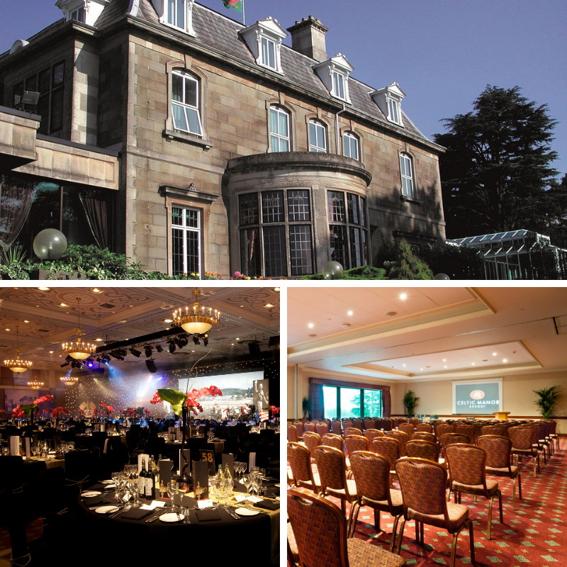 Celtic Manor Resort for events in Wales