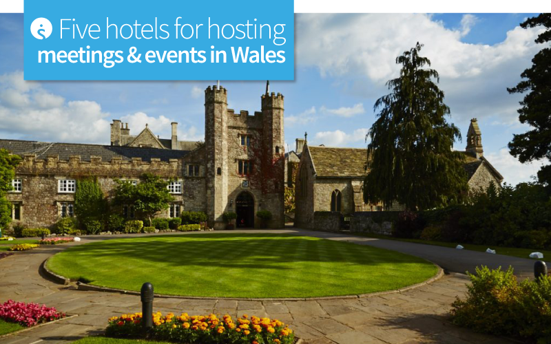 Five hotels for hosting meetings and event in Wales