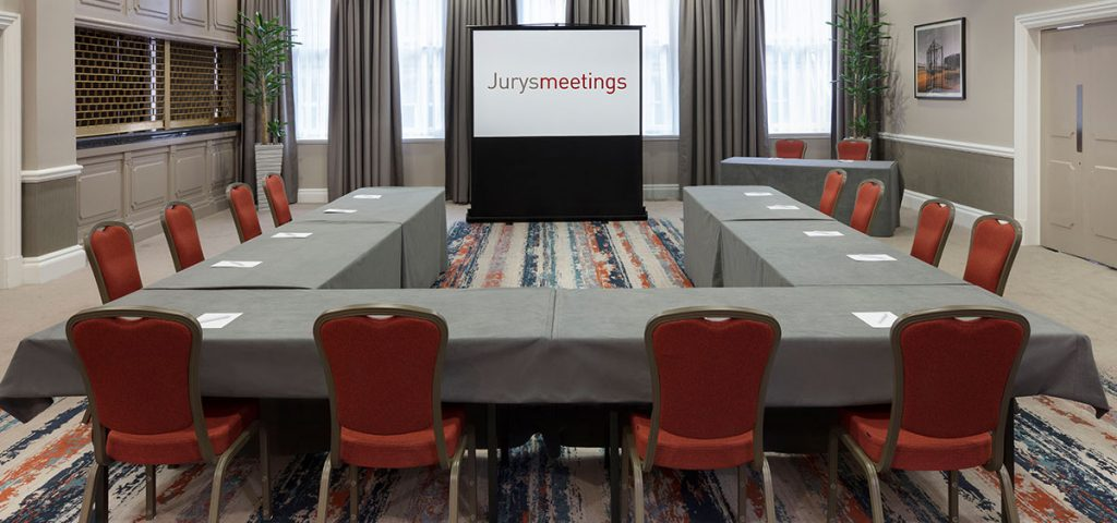 Jurys Inn Cardiff meeting room