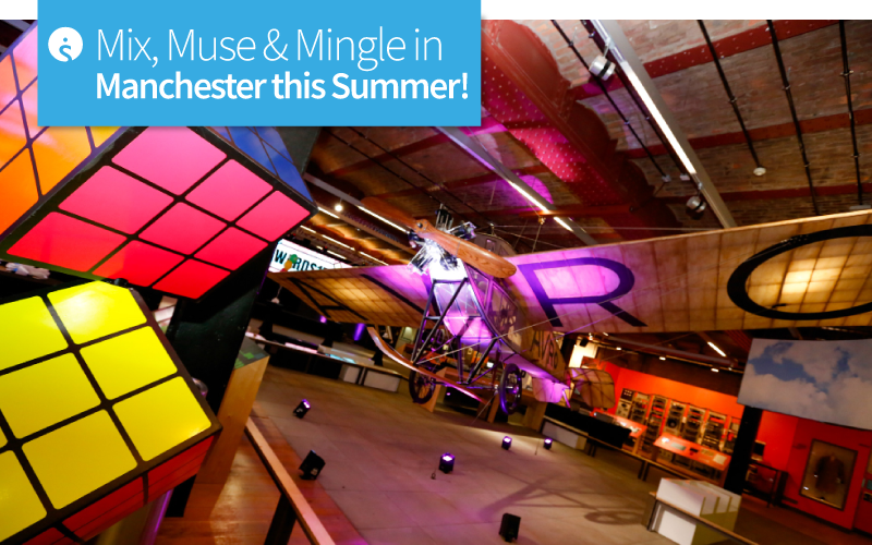 Mix, Muse & Mingle in Manchester this Summer!