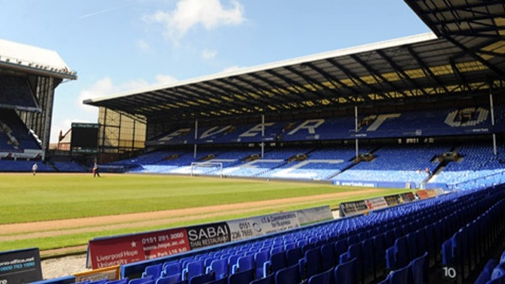 Goodison Park home to Everton FC