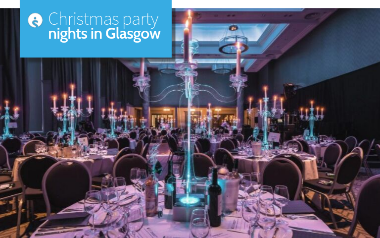 Christmas party nights in Glasgow
