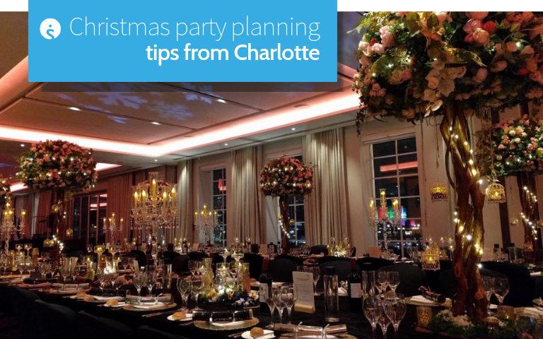 Christmas party planning tips from Charlotte