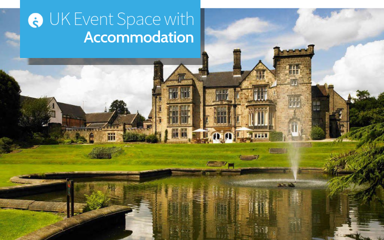 UK Event Space with Accommodation