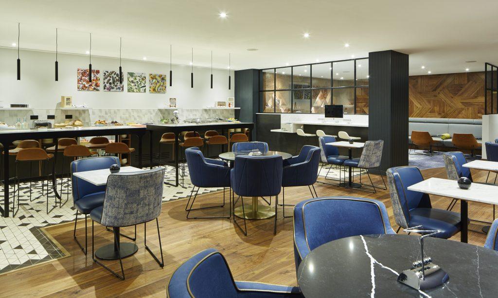 London Marriott Hotel Dining