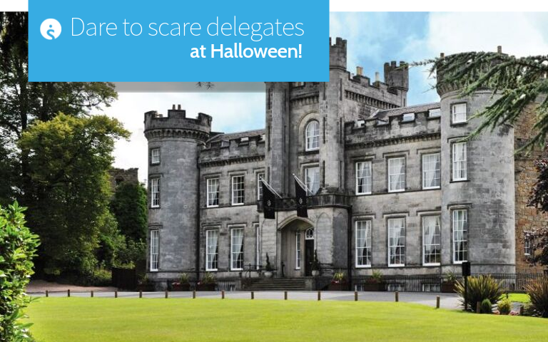 Dare to scare delegates at Halloween