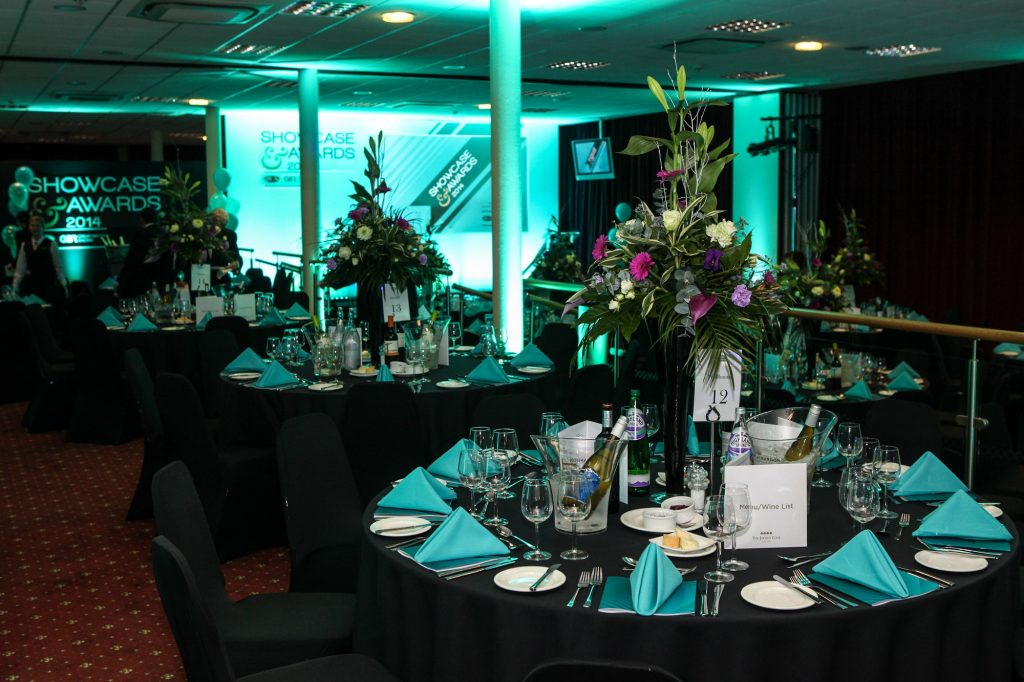 Haydock Racecourse Christmas Party Layout