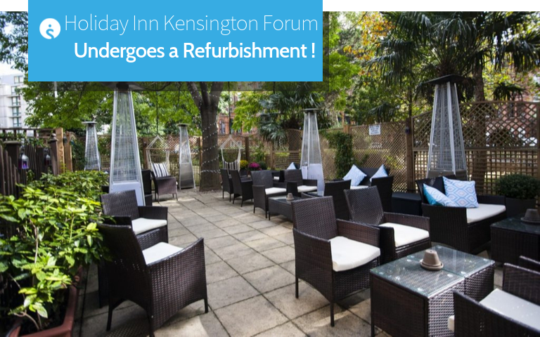 Holiday Inn Kensington Forum Undergoes a Refurbishment
